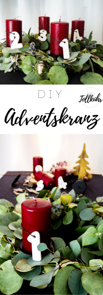 Pin DIY-Adventskranz