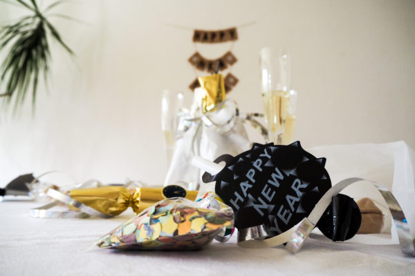 DIY-Goodie-Bags zur Silvester-Party